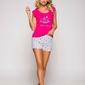Taro eva 2157 ss19 k01 różowa piżama damska