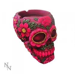 Meksykańska czaszka różowa - popielniczka