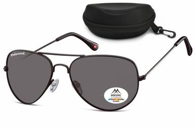 Okulary pilotki aviator polaryzacyjne montana mp96c