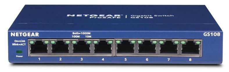Switch netgear gs108ge - szybka dostawa lub możliwość odbioru w 39 miastach