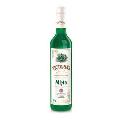 syrop barmański, do drinków mięta 490 ml