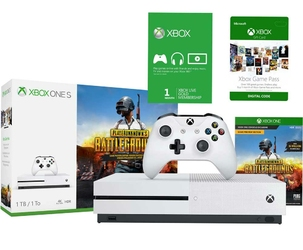Konsola Xbox One S 1TB + Battleground+ Live Gold + Game Pass