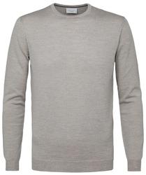 Sweter merino beżowy s