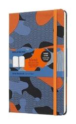 Notes Moleskine Nomad Blend limitowana edycja L pomarańczowy