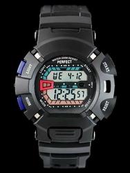 Męski zegarek PERFECT SHOCK  zp161b - blue