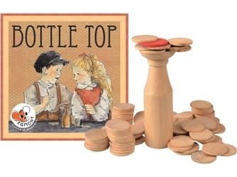 BUTELKA drewniana gra zręcznościowa