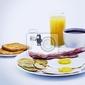 Obraz diavoli alieni 3d rendering colazione