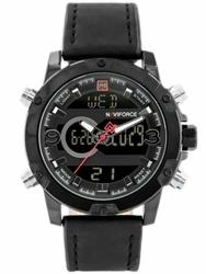 Męski zegarek NAVIFORCE - NF9097 zn043c - black