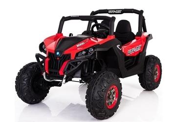Buggy superstar 4x4 xmx-603 mp3 czerwony dwuosobowy samochód terenowy dla dziecka