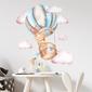 Naklejka na ścianę - sky rabbit , wymiary naklejki - szer. 70cm x wys. 70cm