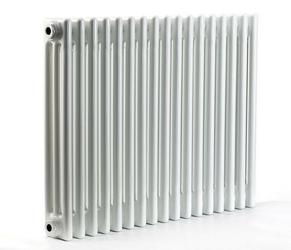 Grzejnik pokojowy retro - 3 kolumnowy, 500x800, białyral - biały