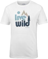T-shirt męski columbia terra vale em0737100