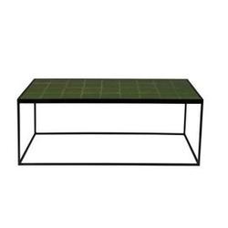 Zuiver :: stolik glazed zielony