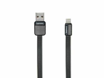 Kabel Remax RC-044i Platinum USB - Lightning Metal Czarny - Czarny