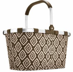 Niezwykły koszyk na zakupy Reisenthel Carrybag Diamonds Mocha RBK6039