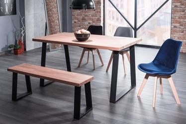 Industrialny stół na metalowych płozach ronaldo 180x90 cm