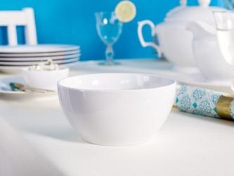 Salaterka okrągła porcelana mariapaula biała 14 cm