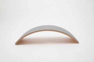 Deska do balansowania pro linnen z filcem, baby mouse, wobbel - baby mouse