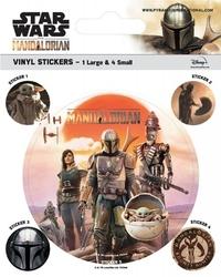 Star wars the mandalorian legacy - naklejki