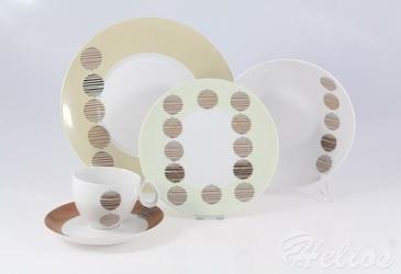 Zestaw obiadowo-kawowy dla 6 os.30 części - E-699 QUEBEC