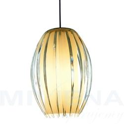Tentacle lampa wisząca 1 szkło akryl 38cm