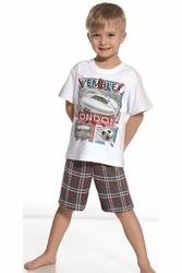 Cornette 78945 Stadium biały piżama chłopięca