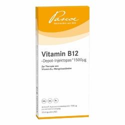 Witamina B12-Depot injektopas ampułki 1500 μg