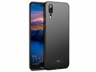 Etui MSVII Thin Case do Huawei P20 czarne - Czarny