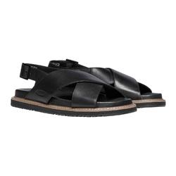 Sandały damskie keen lana cross strap sandal - czarny