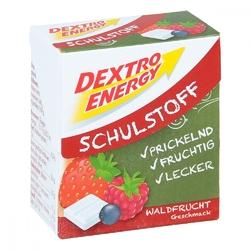 Dextro energy schulstoff pastylki o smaku owoców leśnych