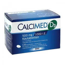 Calcimed d3 500 mg1000 i.e. kautabletten