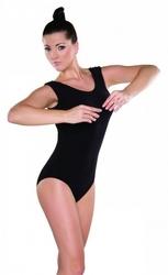Kostium gimnastyczny bawełna shepa b1 bez rękawów