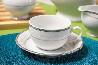 Bgh porcelana bogucice serwis herbaciany 2712 new holins platin