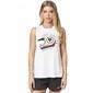 Fox  koszulka lady bez rękawów road course white