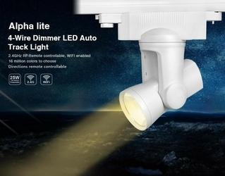 Oświetlenie liniowe, punktowe wifi  25w -  futw05  al4 dimmer