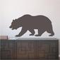 Szablon na ścianę niedźwiedź 2134