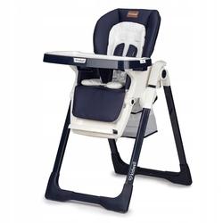 Kidwell prime granatowo-beżowe krzesełko do karmienia + puzzle