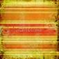 Obraz na płótnie canvas rocznika pomarańczowym tle