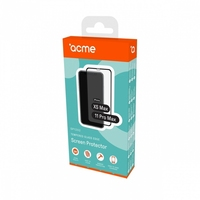 Acme europe szkło hartowane edge do iphone xs max  11 pro max, czarna ramka, 9h, 0,33m, 2,5d