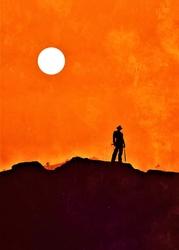 Indiana Jones Vintage Poster - plakat Wymiar do wyboru: 42x59,4 cm