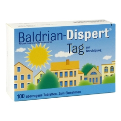Baldrian dispert tag tabletki powlekane na dzień