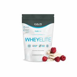 EVOLITE WheyElite 900g Atrakcyjna oferta - White Chocolate Raspberry