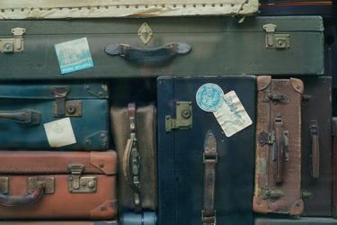 Fototapeta na ścianę stare walizki  fp 3968