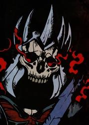 Wiedźmin - eredin, the bringer of death - plakat wymiar do wyboru: 59,4x84,1 cm