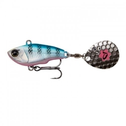 Savage gear fat tail 8 cm 24g sinking blue silver pink