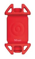 Trust Bari Flexible Uchwyt na telefon do roweru - czerwony