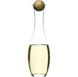 Karafka na wino białe lub wodę z dębowym korkiem Sagaform Oak SF-5015336