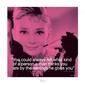 Audrey hepburn życiowe cytaty  - reprodukcja