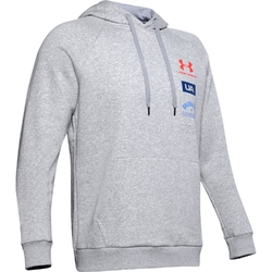 Bluza męska rival fleece originators hoodie - szary