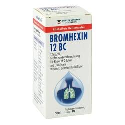 Bromhexin 12 bc tropfen